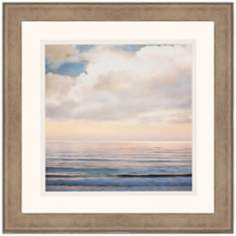 "Ocean Light I 30"" Square Framed Wall Art"