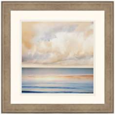 "Ocean Light II 30"" Square Framed Wall Art"