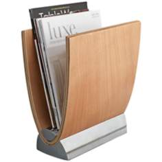 Nambe Lumin Magazine Rack