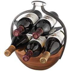 Nambe Anvil Wine Basket
