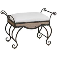 Uttermost Bryn Small Bench