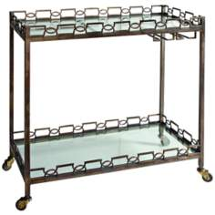 Uttermost Nicoline Serving Cart