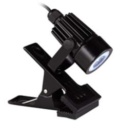 LED Mini Clip On Light in Black