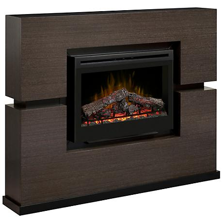 Linwood Gray Rift Electric Fireplace