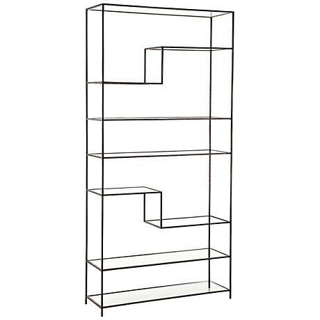 Arteriors Home Worchester Natural Iron Bookshelf