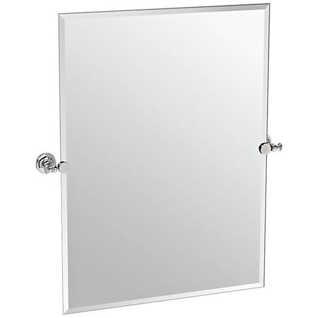 "Gatco Tavern Polished Nickel 28"" x 31 1/2"" Wall Mirror"