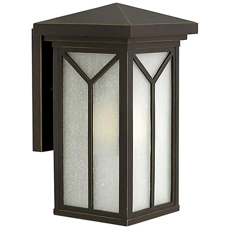 "Hinkley Drake 13 3/4"" High Bronze Outdoor Wall Light"