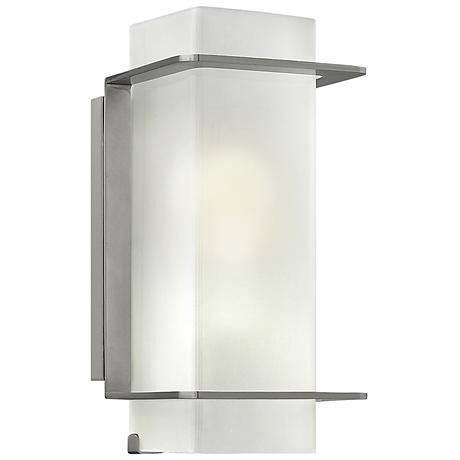 "Hinkley Union 12"" High Brushed Nickel Wall Sconce"