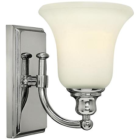 "Hinkley Colette 8 1/4"" High Chrome Wall Sconce"