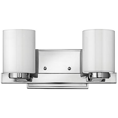 "Miley 13"" Wide Chrome Bathroom Light by Hinkley"