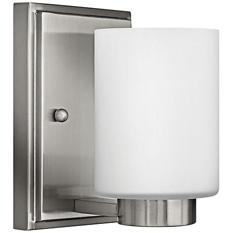 "Hinkley Miley 6 1/2"" High Brushed Nickel Wall Sconce"