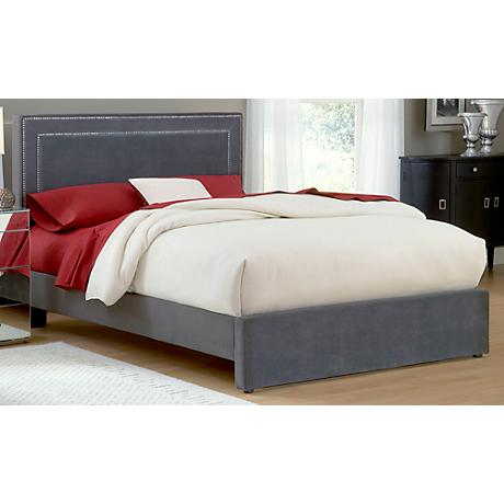 Hillsdale Amber Pewter Cal King Bed