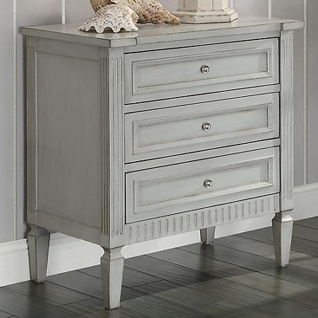 Crestview Collection Weatherford English Grey Chest