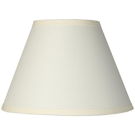 ivory table lamp clip shade 6x12x8 5 clip on 3k807 www. Black Bedroom Furniture Sets. Home Design Ideas