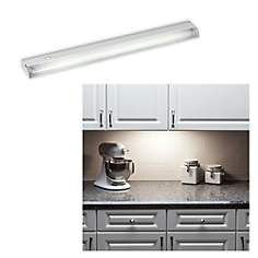 "Fluorescent  22 1/2"" Slim Under Cabinet Direct Wire Light"