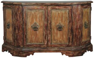 Wellborn Weathered Wood Credenza (3M671)