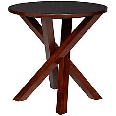 Crisscross Accent Table