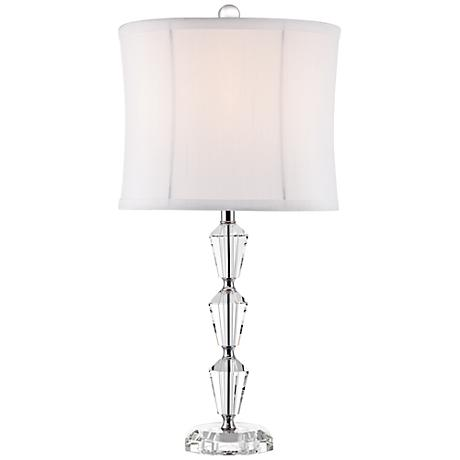 Goddin Contemporary Faceted Crystal Table Lamp
