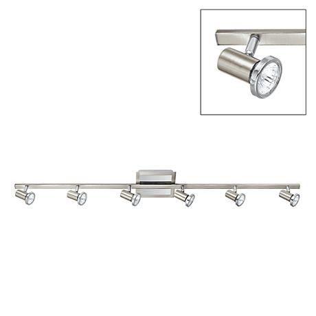 Eglo Rottelo Chrome - Nickel Six-Light Track Fixture