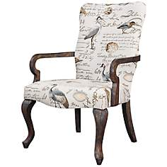 Arnau Birdsong Sea Mist Reclaimed Gray Armchair