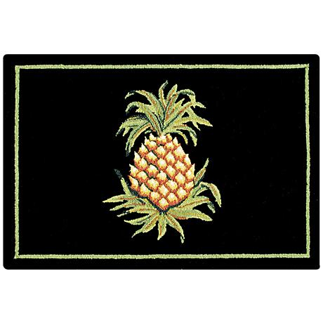 Colonial Williamsburg Pineapple 2'x3' Doormat