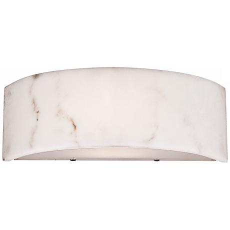 "Dervish Collection 14"" Wide Artstone Sconce"