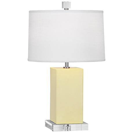 Robert Abbey Harvey Butter Glazed Ceramic Accent Lamp