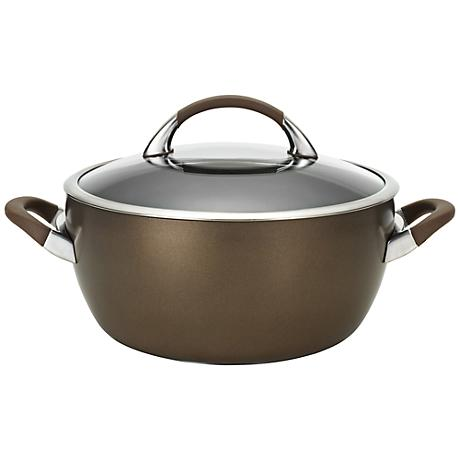 Circulon Symmetry Brown Aluminum 5 1/2-Quart Casserole