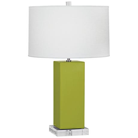 Robert Abbey Harvey Apple Glazed Ceramic Table Lamp