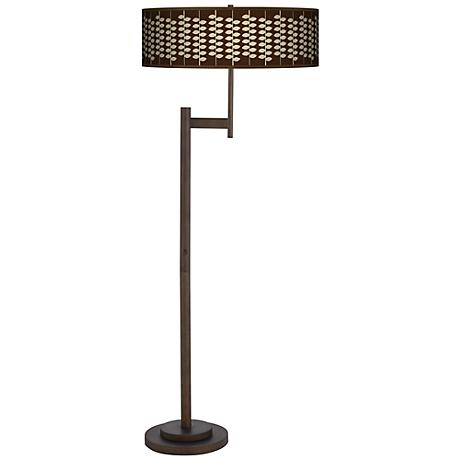 Hi Fi Giclee Parker Light Blaster Bronze Floor Lamp