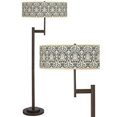 Seedling by thomaspaul Damask Light Blaster Floor Lamp
