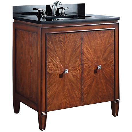 "Avanity Brentwood 31"" New Walnut Sink Vanity"