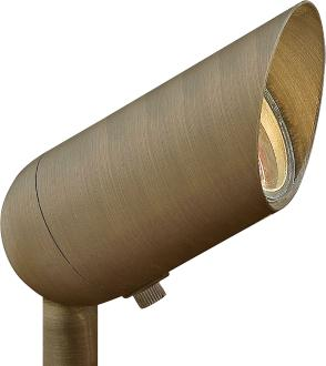 "Hinkley Hardy Island 3 1/4"" High Bronze Outdoor Spot Light (3R263) 3R263"