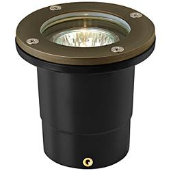 Hinkley Hardy Island Bronze Outdoor Flat-Top Well Light