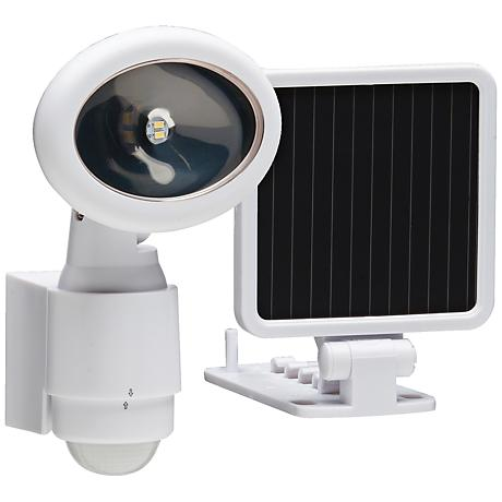 Westdale White Solar LED Security Light