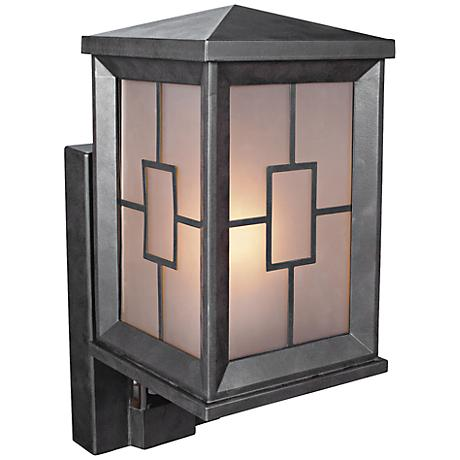 Contempo Carriage Bronze Motion Sensored Security Light
