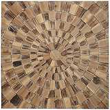 "Forestopia 31 1/2"" Square Woodburst Wall Decor"