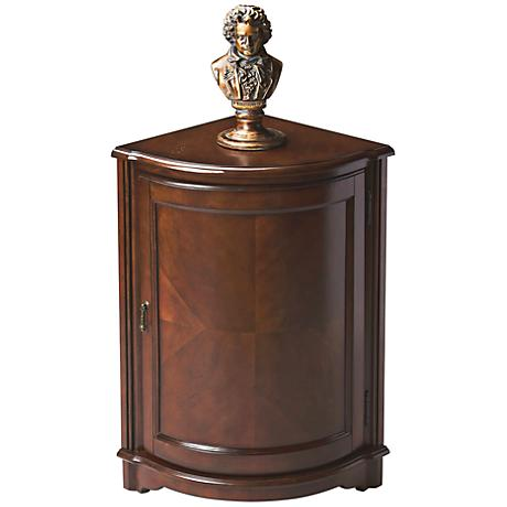 Madison Plantation Cherry Corner Cabinet