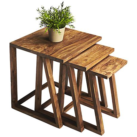 Butler Loft Sheesham Wood Nesting Tables