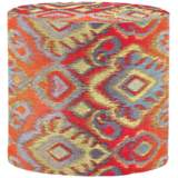 Howard Elliott Opal Fire Short No Tip Cylinder Ottoman