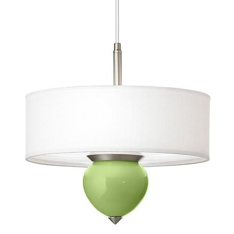"Lime Rickey Cleo 16"" Wide Pendant Chandelier"