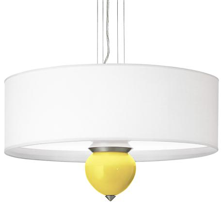 "Lemon Twist Cleo 24"" Wide Pendant Chandelier"
