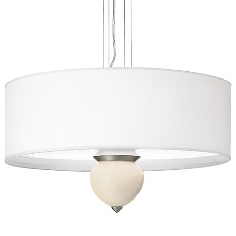 "Steamed Milk Cleo 24"" Wide Pendant Chandelier"