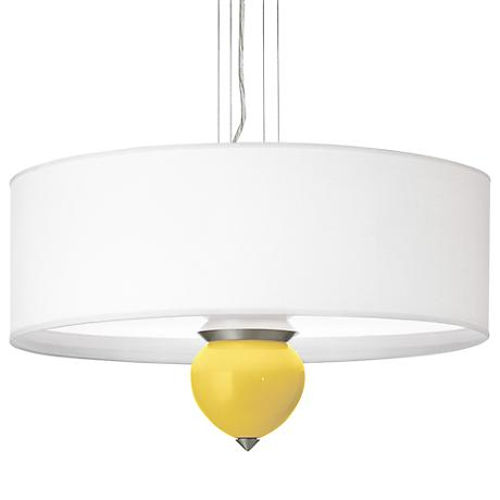 "Lemon Zest Cleo 24"" Wide Pendant Chandelier"
