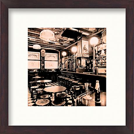 "Tavern 20 1/2"" Square Framed Wall Art"