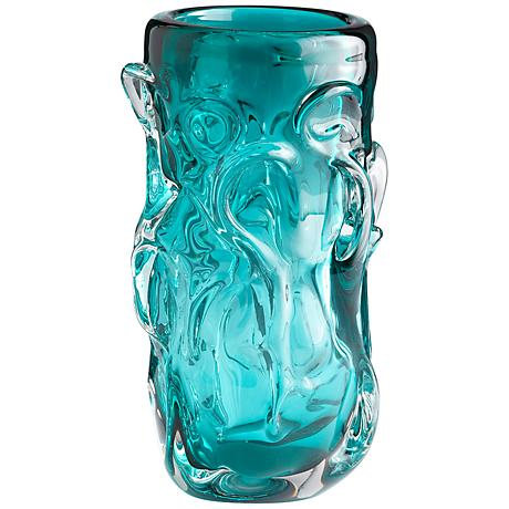 "Tall Chagall 11 1/2"" High Glass Vase"