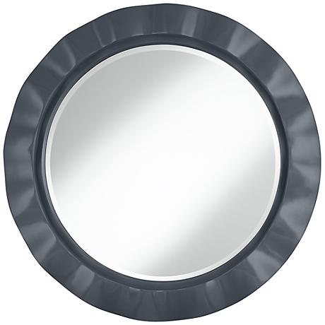 "Turbulence 32"" Round Brezza Wall Mirror"