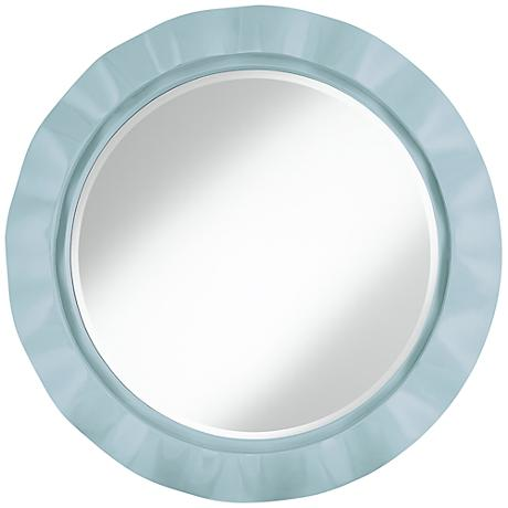 "Vast Sky 32"" Round Brezza Wall Mirror"