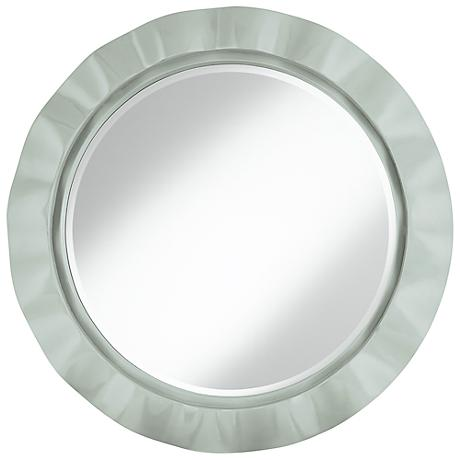 "Take Five 32"" Round Brezza Wall Mirror"