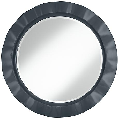 "Outer Space 32"" Round Brezza Wall Mirror"